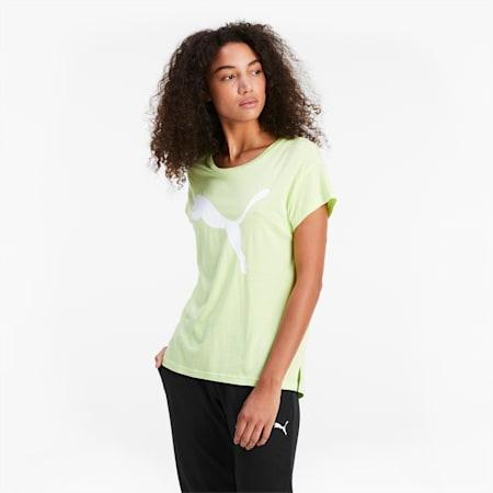 Active Damen T-Shirt, Sharp Green-CAT, small
