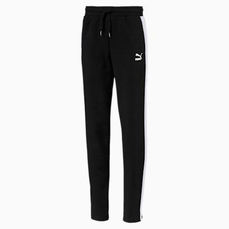Classics Girls' T7 Sweatpants JR, Cotton Black, small