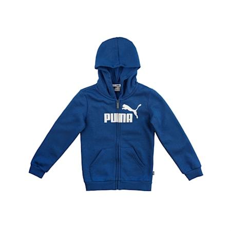 Essentials Hooded Boys' Jacket, Galaxy Blue, small-IND