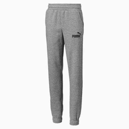 Essentials sweatpants voor jongens, Medium Gray Heather, small