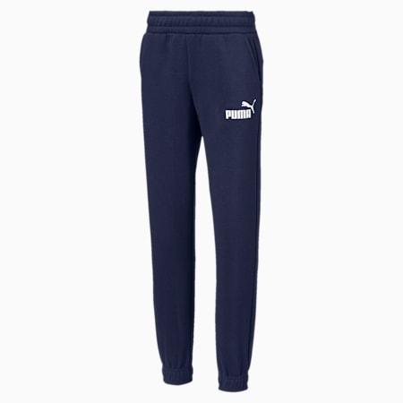 Pantalon en sweat Essentials pour garçon, Peacoat, small