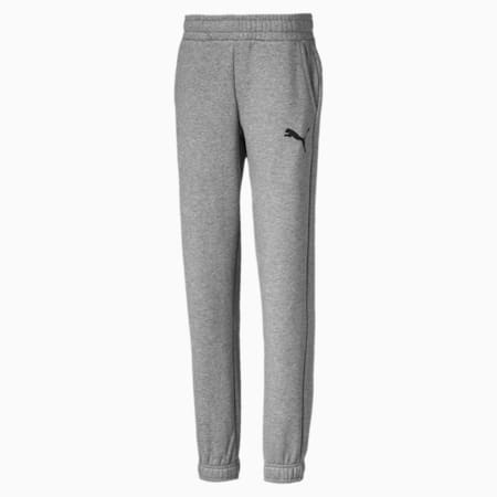Pantalones de deporte Essentials para niño, Medium Gray Heather, small