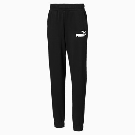 Essentials Boys' Sweatpants, Cotton Black, small-SEA