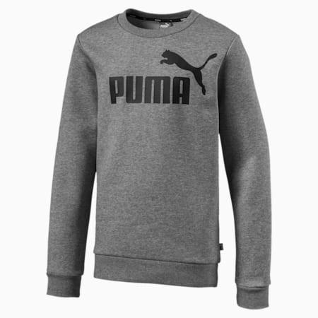 Essentials Boys' Crew Sweater, Medium Gray Heather, small-IND