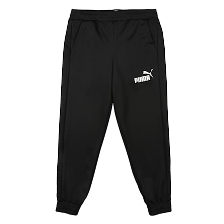 Essentials Poly dryCELL Boys' Sweatpants, Puma Black, small-IND