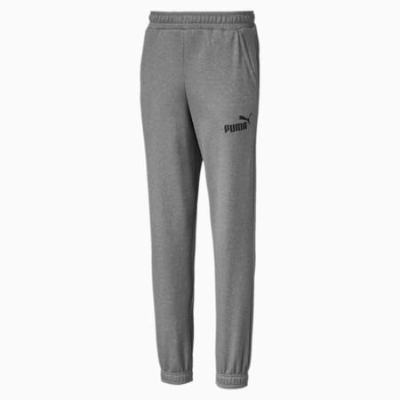 Essentials Poly dryCELL Boys' Sweatpants, Medium Gray Heather, small-IND