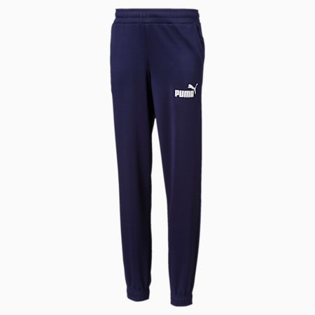 Essentials Poly dryCELL Boys' Sweatpants, Peacoat, small-IND