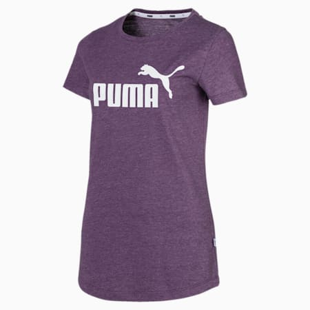 Essentials + Women's Heather Tee, Plum Purple, small