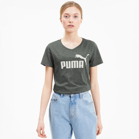 Essentials Heather Women's T-Shirt, Thyme Heather, small-IND