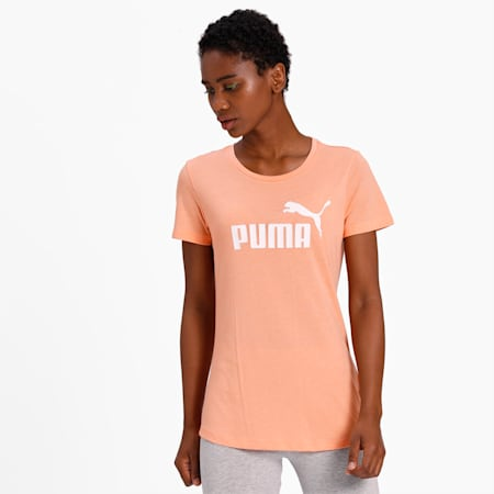 Essentials Heather Women's T-Shirt, Cantaloupe, small-IND