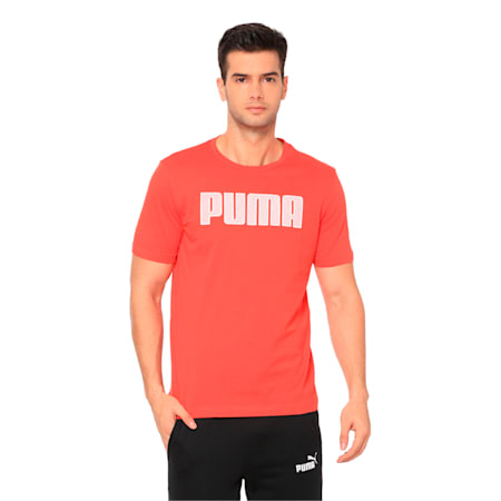 Active P48 Modern Sports Men's Tee, High Risk Red, small-IND