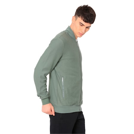 Athletic Premium Jacket Cotton Black, Laurel Wreath, small-IND