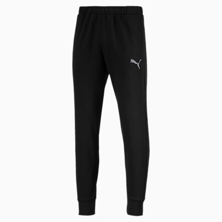 P48 Modern Sports Pants, Cotton Black, small