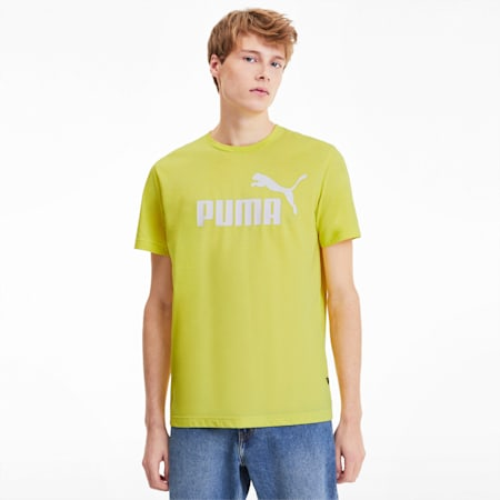 Herren Meliertes T-Shirt, Meadowlark Heather, small