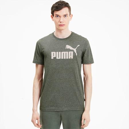 Men's Heather T-Shirt, Thyme Heather, small-SEA