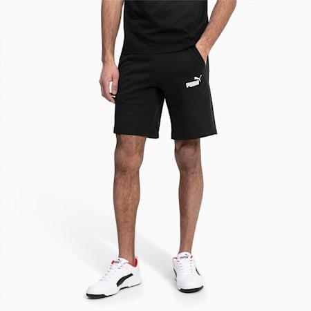Essentials+ Slim Herren Shorts, Cotton Black, small
