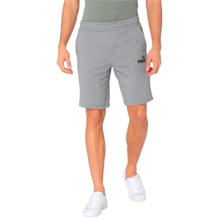 Essentials+ Slim Men's Shorts, Medium Gray Heather, small-IND