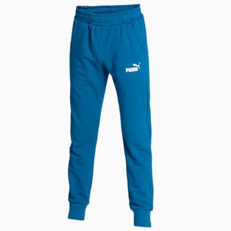 Essentials Men's Slim Fit Sweatpants, Digi-blue, small-IND