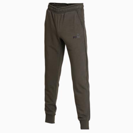 Essentials Men's Slim Fit Sweatpants, Forest Night, small-IND