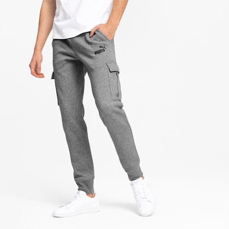 Essentials+ Men's Pocket Pants, Medium Gray Heather, small