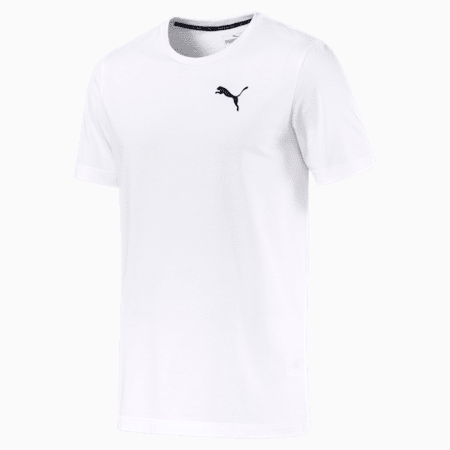 Active Soft Men's Tee, Puma White, small-SEA