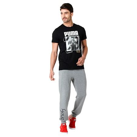 PUMA x Virat Kohli Men's T-Shirt, Puma Black, small-IND