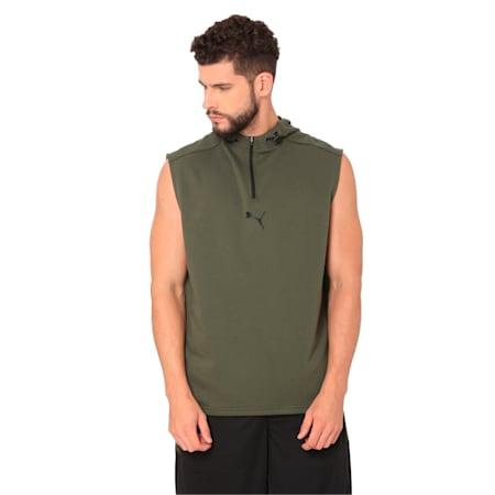 Modern Sports SL hoody Puma Black, Forest Night, small-IND