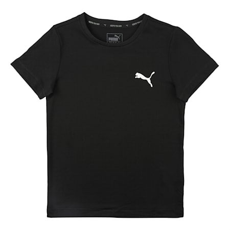 Active Boys' dryCELL T-Shirt, Puma Black, small-IND