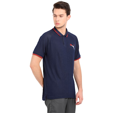 Active Hero Polo, Peacoat, small-IND