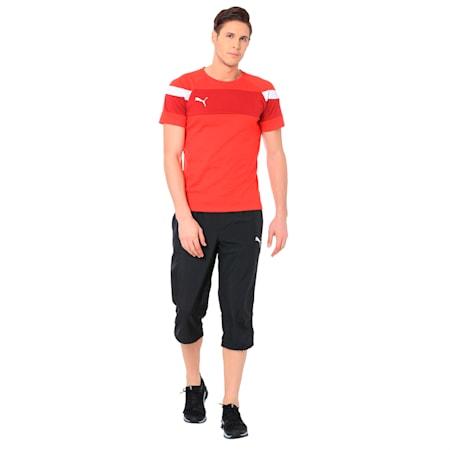 ESS Woven 3/4 Pants, Puma Black, small-IND