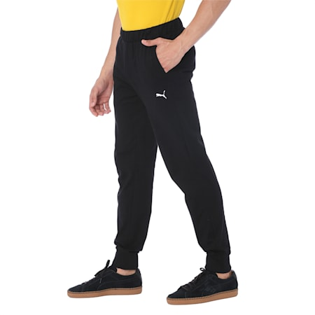 ESS Jersey Pants, cl., Cotton Black, small-IND
