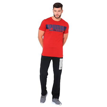 STYLE Athletics Graphic Tee, Red Dahlia, small-IND