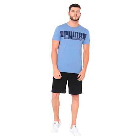 STYLE Athletics Graphic Tee, Infinity Heather, small-IND