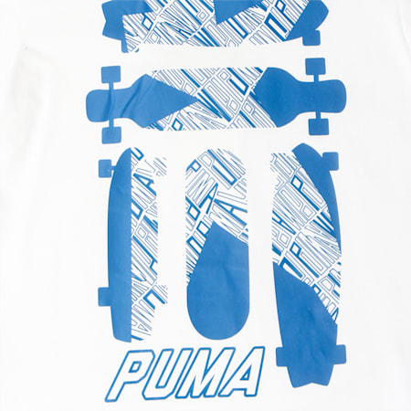 Skate Graphic Tee, Puma White, small-IND