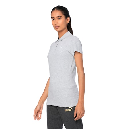 ESS Polo W, Light Gray Heather, small-IND
