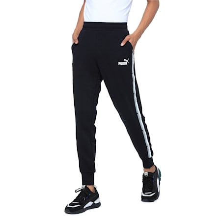 Tape Pants, Cotton Black, small-IND