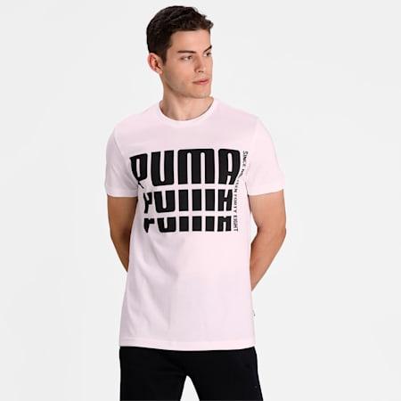 Men's Rebel Bold Basic T-Shirt, Puma White, small-IND