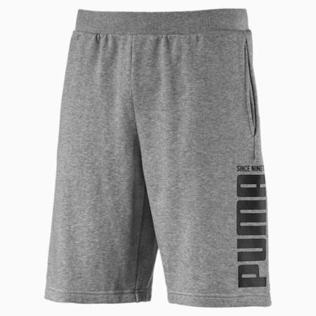 Men's Rebel Bold Shorts, Medium Gray Heather, small-SEA