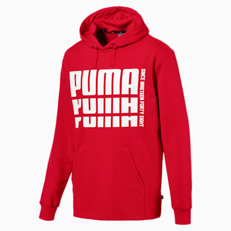 Rebel Bold Hoodie, Ribbon Red, small