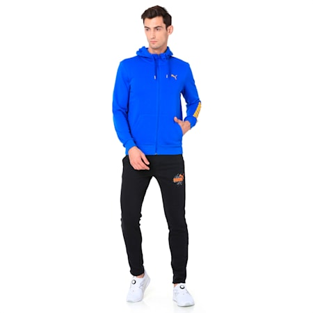 Men s Hooded, Lapis Blue, small-IND