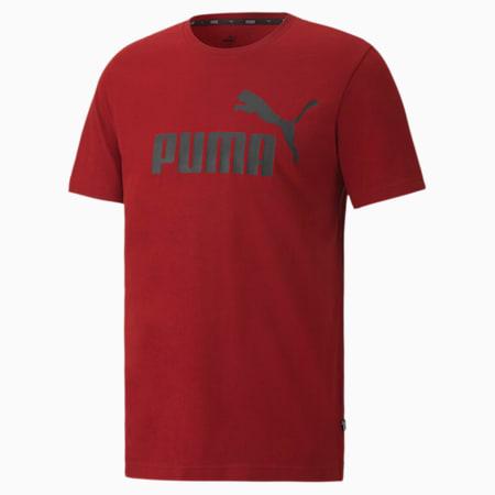 T-shirt Essentials uomo, Red Dahlia, small
