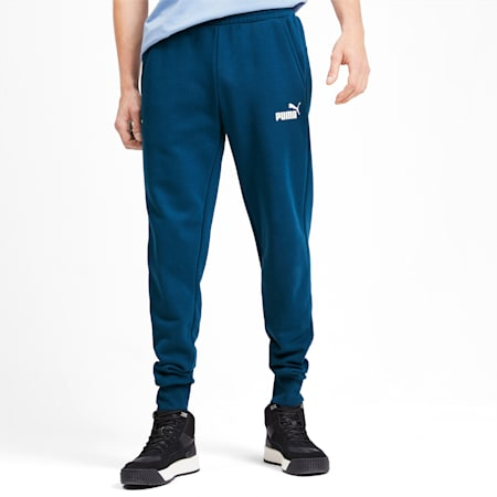 Essentials Fleece Men's Sweatpants, Gibraltar Sea, small