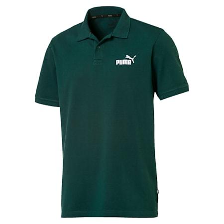 Essentials Pique Men's Polo Shirt, Ponderosa Pine, small-IND