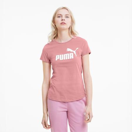Essentials T-shirt voor dames, Foxglove, small