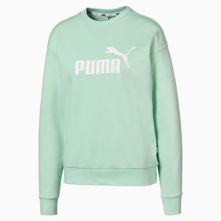 Essentials Women's Sweatshirt, Mist Green, small-IND