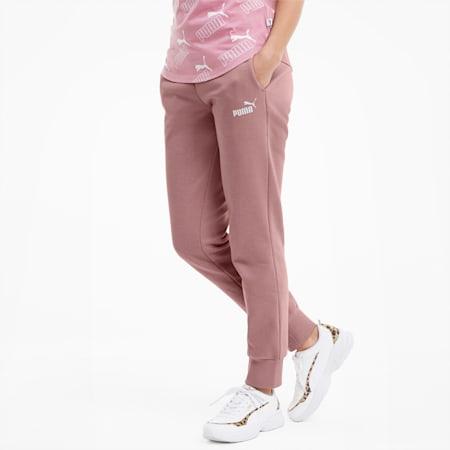 Essentials Fleece Women's Sweatpants, Foxglove, small-IND