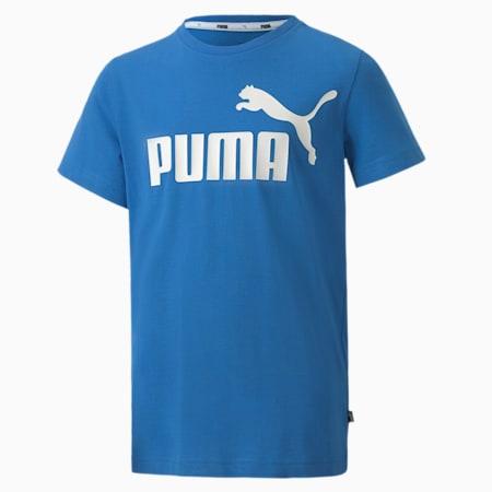 キッズ ESS Tシャツ 半袖 120-160cm, Palace Blue, small-JPN