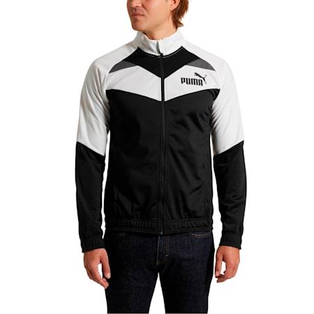 Iconic Tricot Jacket, Puma White-Puma Black, small