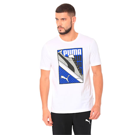 Sneaker Tee, Puma White, small-IND