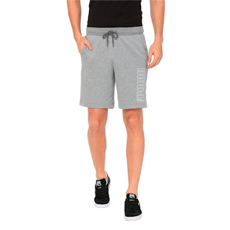 Athletics Men's Sweat Shorts, Medium Gray Heather, small-IND